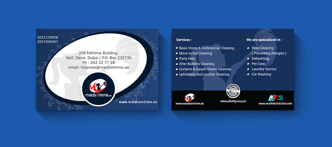 Amazing Laundry Business Card Contemporary - Business Card Ideas ...